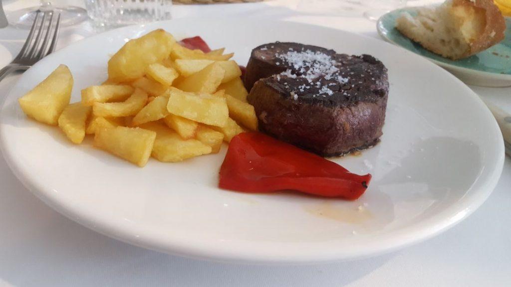 Restaurante El Jardín de la Máquina - Solomillo de Charolés
