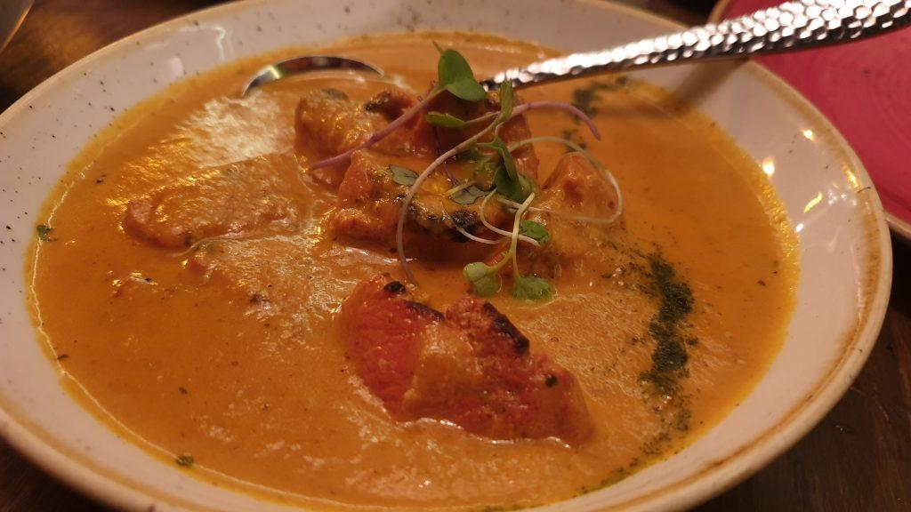 tandoori Station-Pollo con salsa cremosa