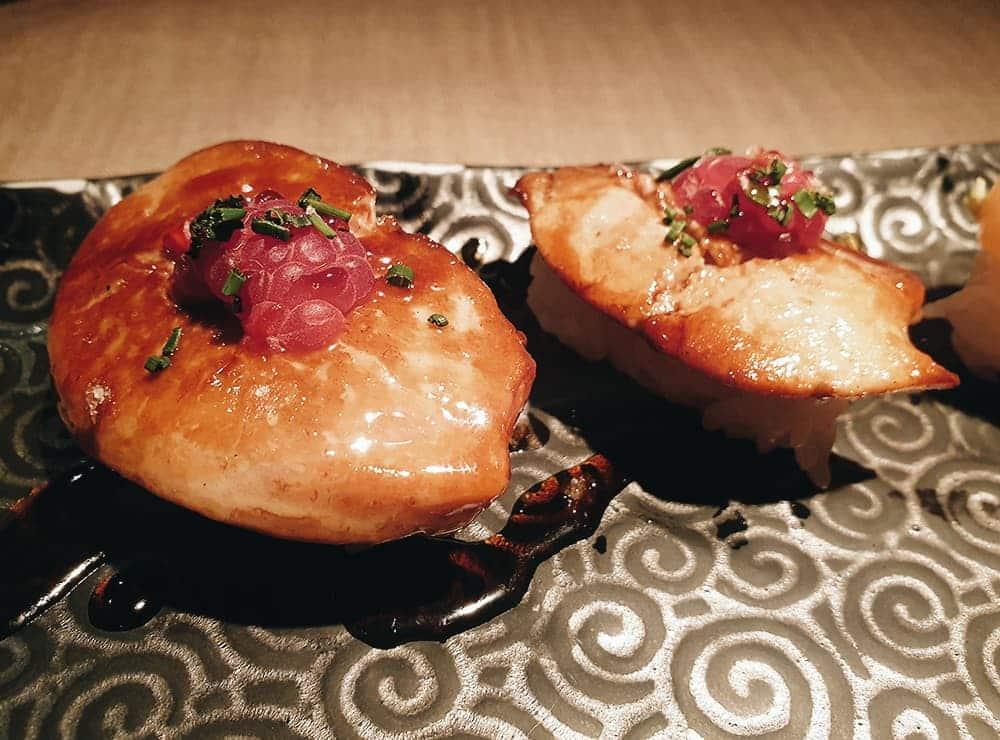 99 Sushi Bar - Nigiri Foie Plancha