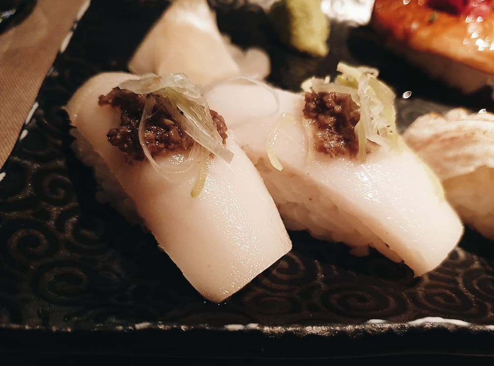 99 Sushi Bar - Nigiri Pez Mantequilla