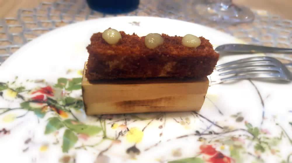 DOMO by Roncero & Cabrera - Lingote de foie, costra de pan de cinco especias