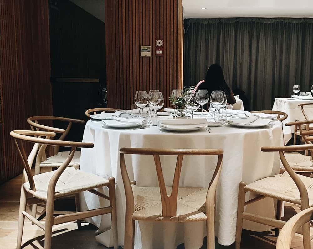 Restaurante Álbora - Mesas