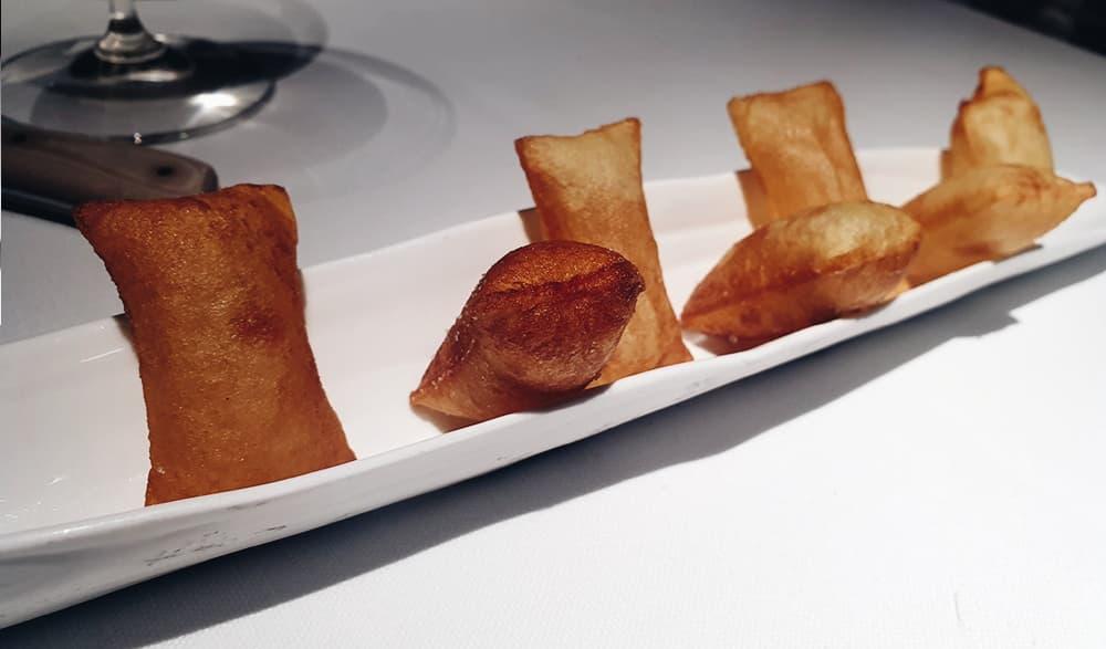 Restaurante Álbora - Patatas Suflé