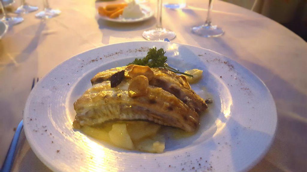 Restaurante Al Punto - Corvina