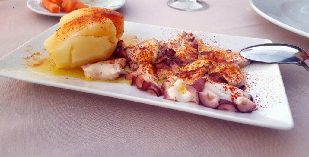 Restaurante Al Punto - Pulpo a la Gallega