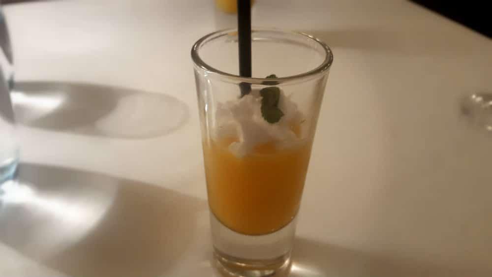 Restaurante Amparito Roca - Sorbete de Mango