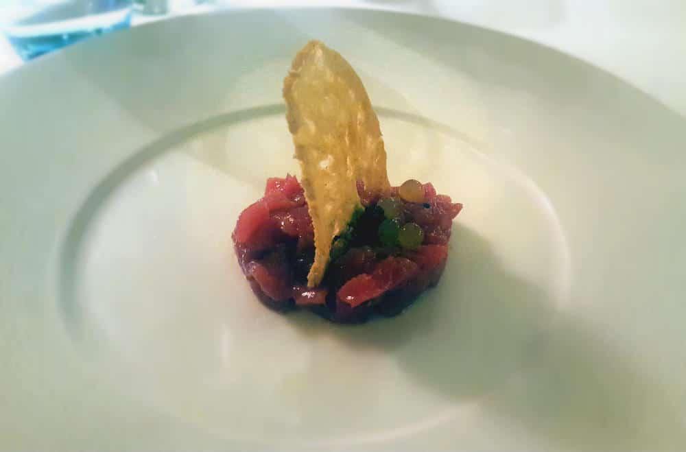 Restaurante Amparito Roca - Tartar de atún