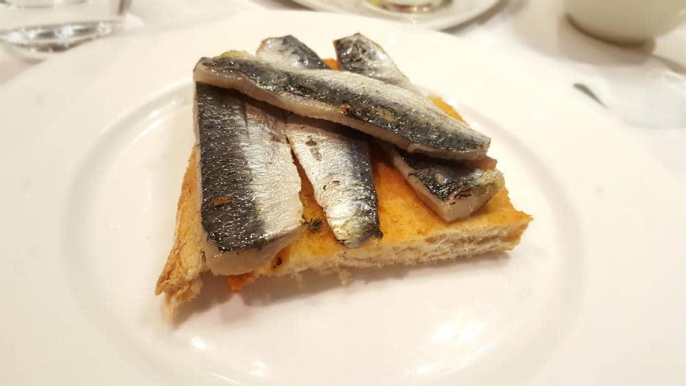 Restaurante Asgaya - Sardinas Ahumadas
