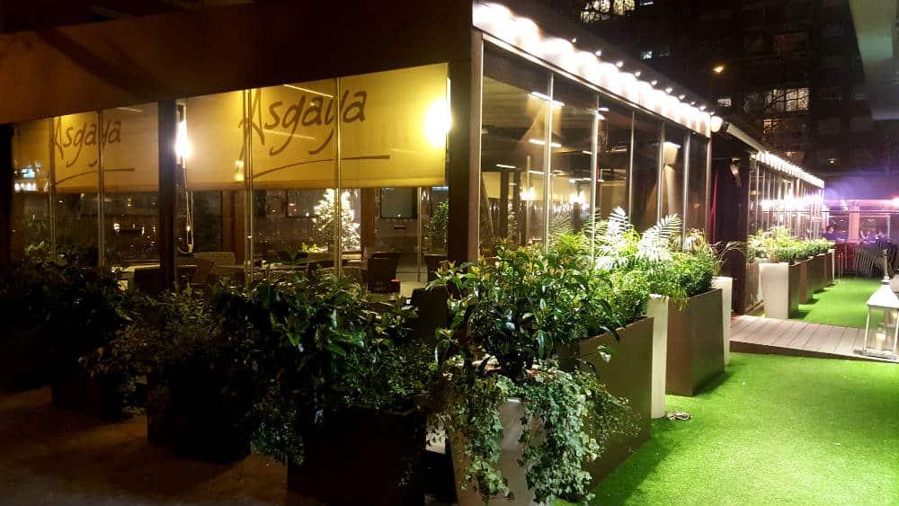 Restaurante Asgaya - Terraza