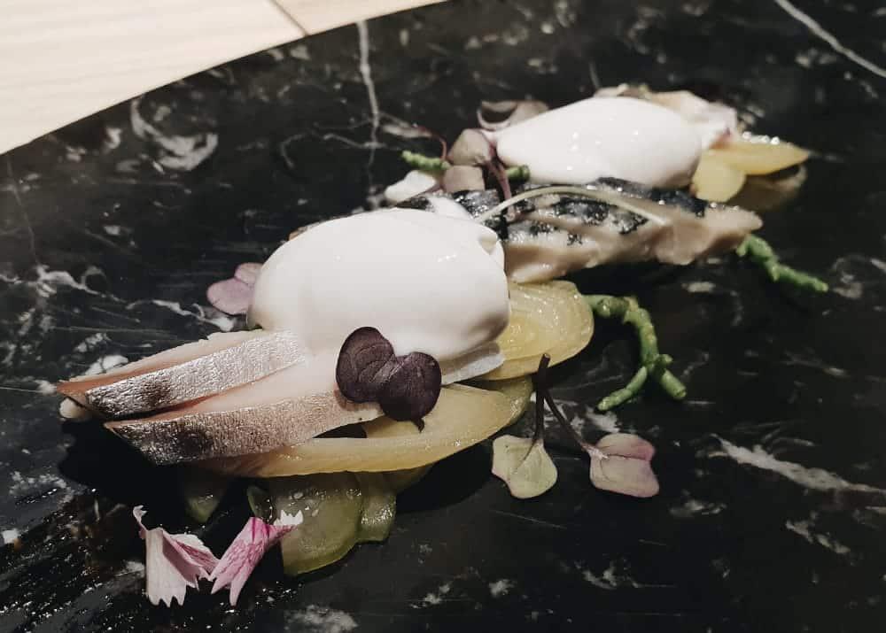 Restaurante Biosfera - Caballa con Teriyaki
