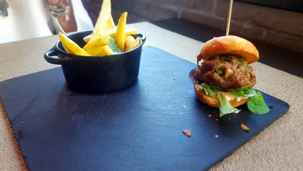 Restaurante Cambridge Soho Club - Mini Hamburguesa