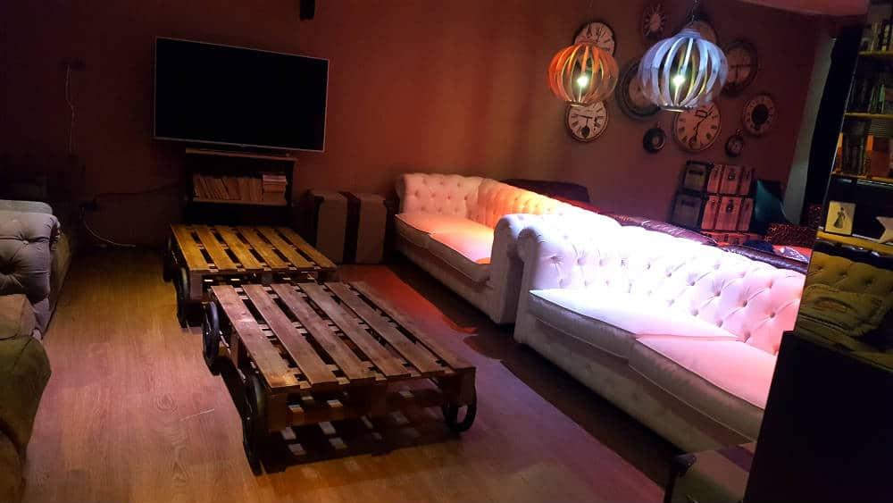 Restaurante Cambridge Soho Club - Sala con sofás