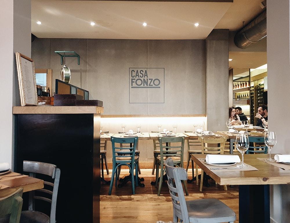Restaurante Casa Fonzo - Interior 2