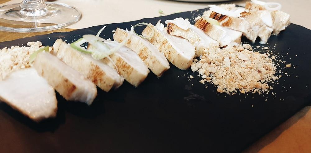 Restaurante Casa Fonzo - Tataki de Pez Mantequilla