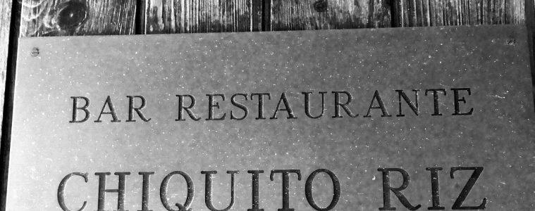 Restaurante Chiquito Riz