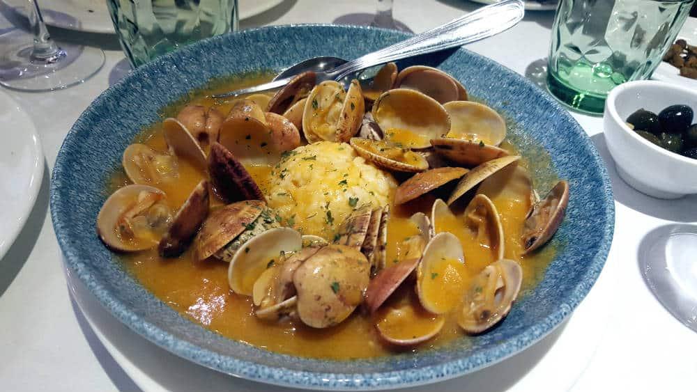Restaurante Chiquito Riz - Almejas a la Marinera