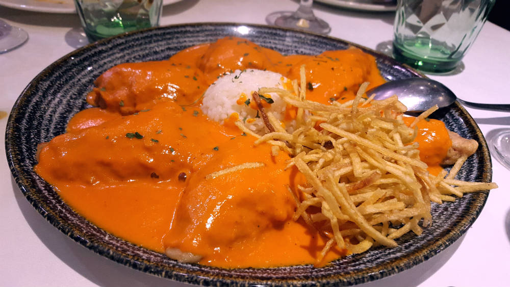 Restaurante Chiquito Riz - Pimientos rellenos de Txangurro