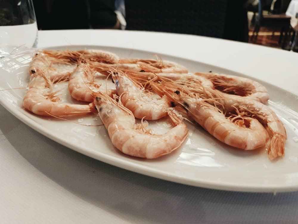Restaurante Colonial Norte - Gambas Blancas de Huelva