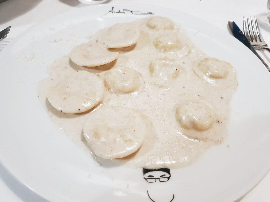 Restaurante Don Giovanni - Lunette di Formaggio e Tartufo