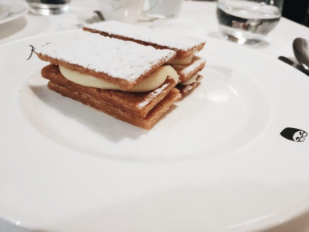 Restaurante Don Giovanni - Millefoglie di crema di Paco Torreblanca