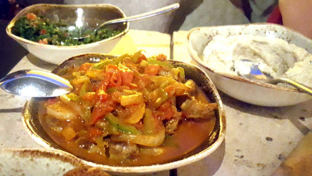 Restaurante Du Liban - Mutabbel, Tabbouleh y Farroujmeshwi