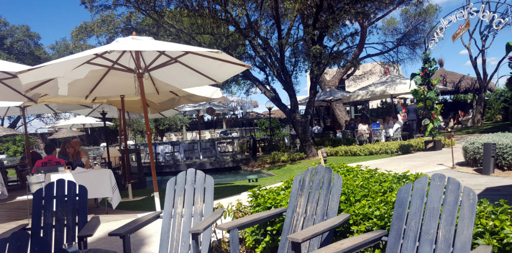 Restaurante El Jardín de la Máquina - Jardín