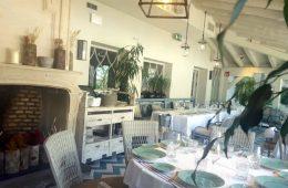 Restaurante El Jardín de la Máquina - Terraza Acristalada