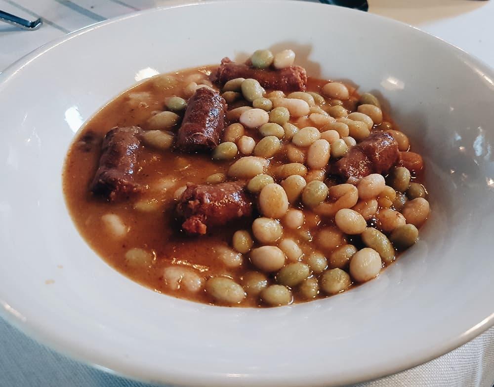 Restaurante Filandón - Pochas con Chistorra