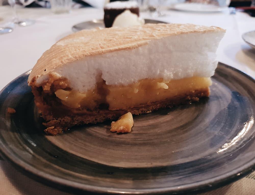 Restaurante Filandón - Tarta de Limón