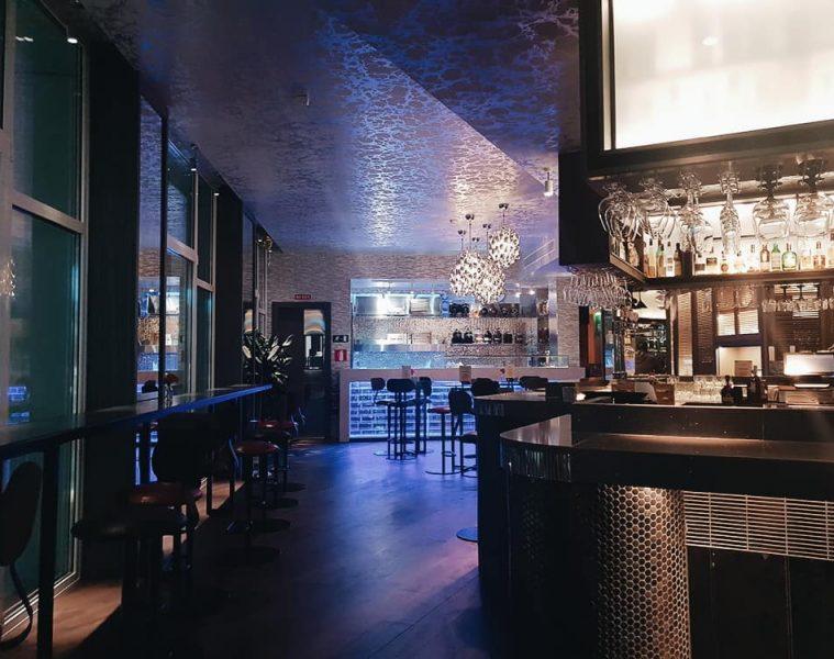 Restaurante Hielo y Carbón - Barra