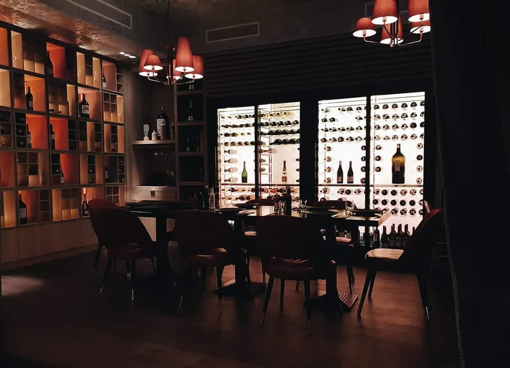 Restaurante Hielo y Carbón - Interior