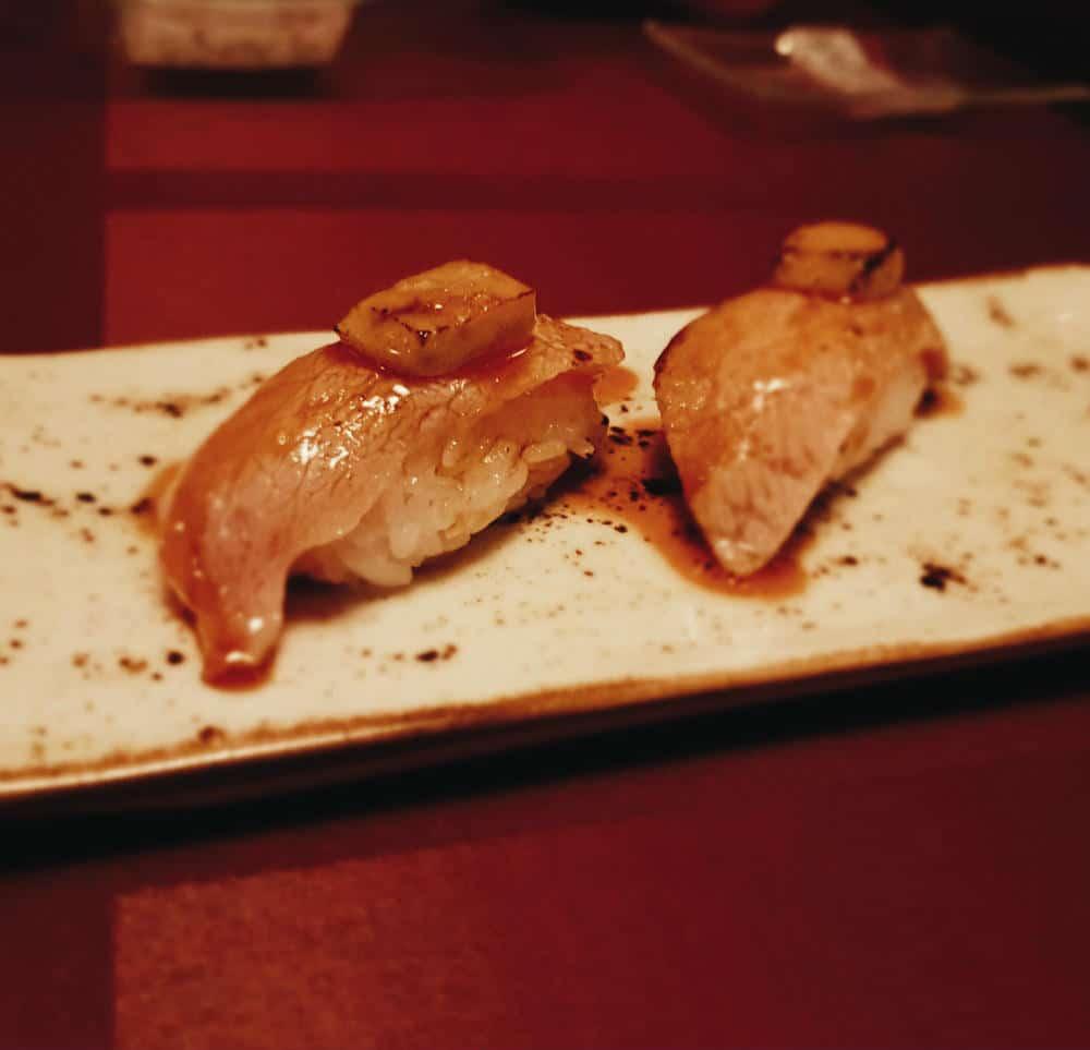 Restaurante Inari - Nigiri Toro Foie