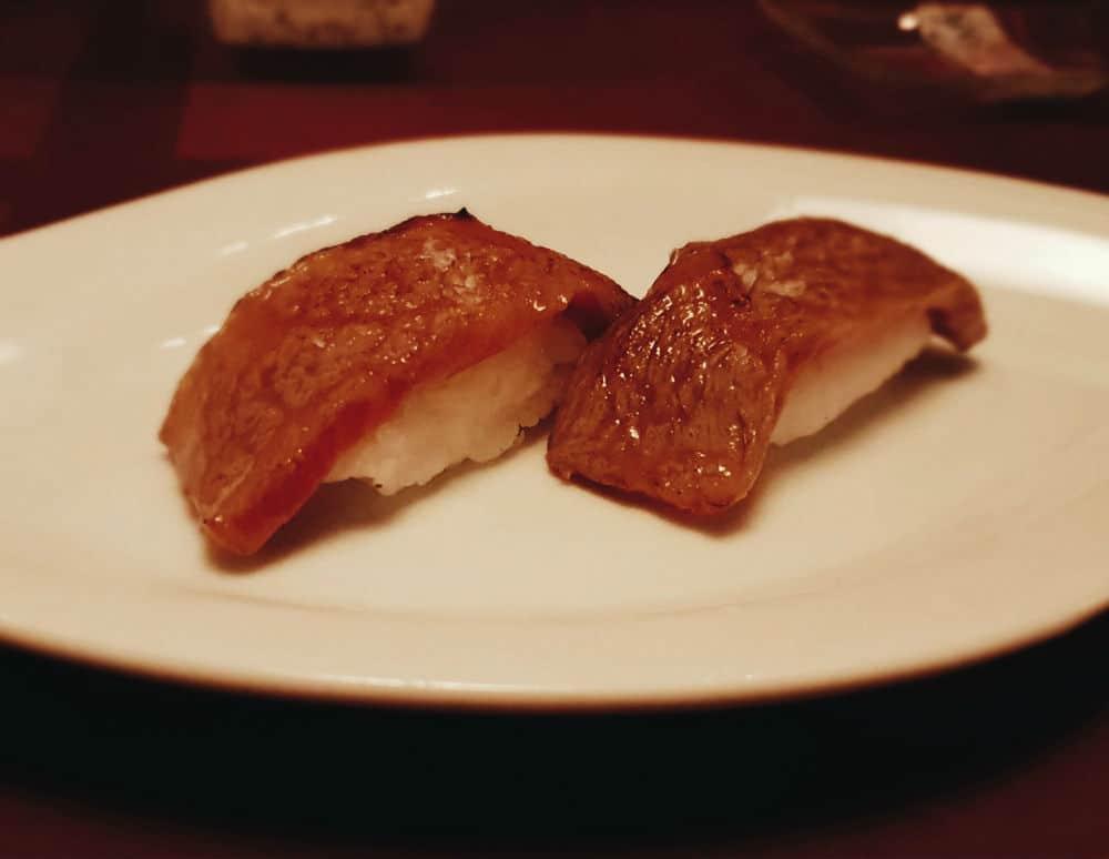 Restaurante Inari - Niguiri Wagyu