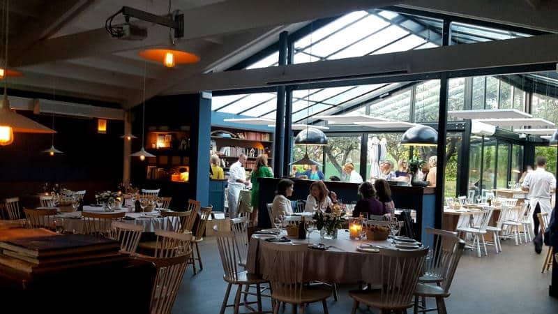Restaurante La Cabaña Marconi - Interior