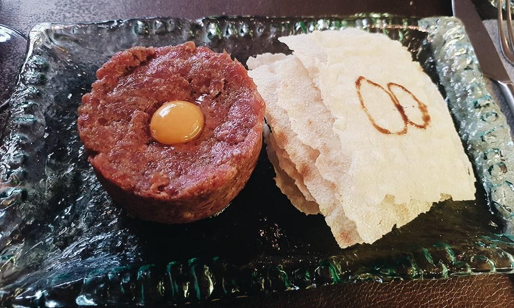 Restaurante La Contraseña - Steak Tartar