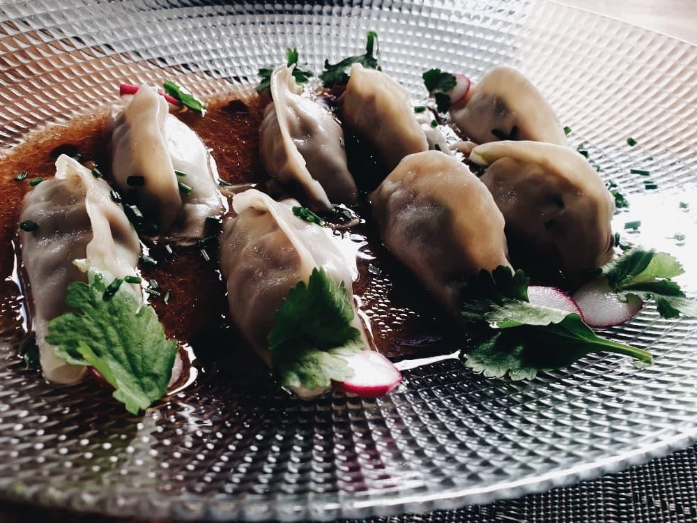Restaurante La Vanduca - Gyozas de Pato