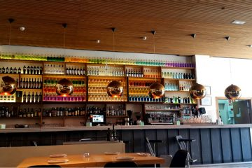 Restaurante Lateral Arturo Soria - Barra
