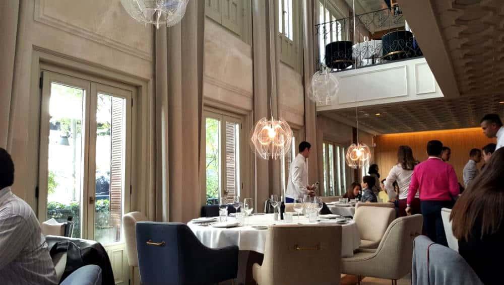 Restaurante Lux Madrid - Entrada