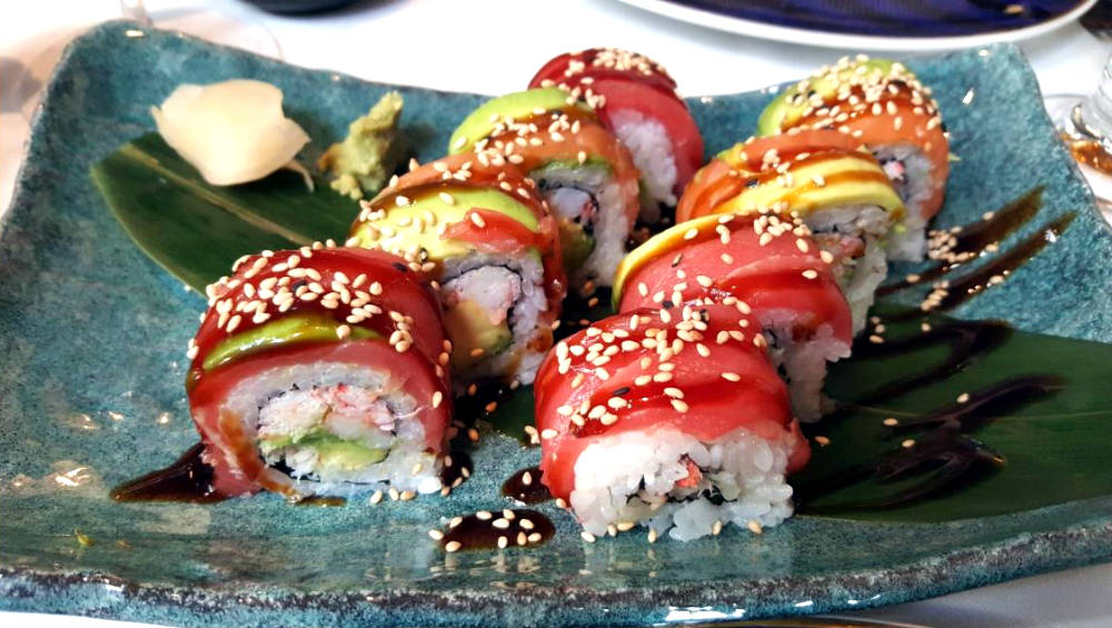Restaurante Lux Madrid - Uramaki California