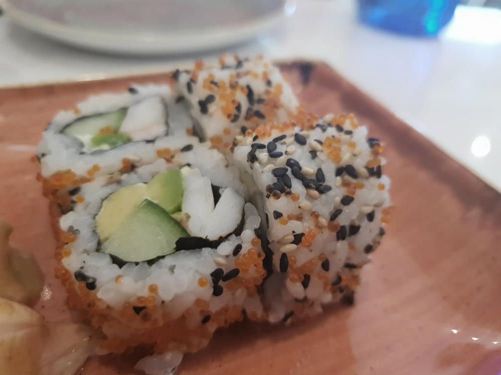 Restaurante Maitake - Maki California Roll