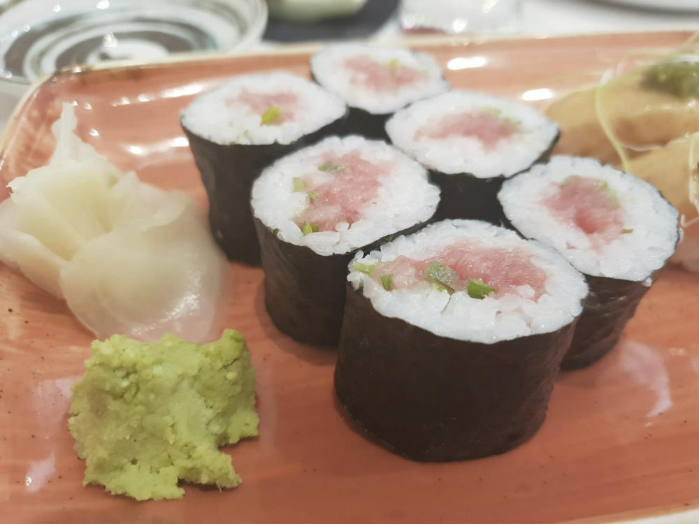 Restaurante Maitake - Maki Toro Cebolleta