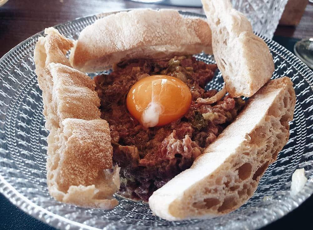 Restaurante Martilota - Steak Tartar