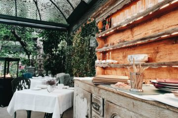 Restaurante Numa Pompilio - Mueble Exterior