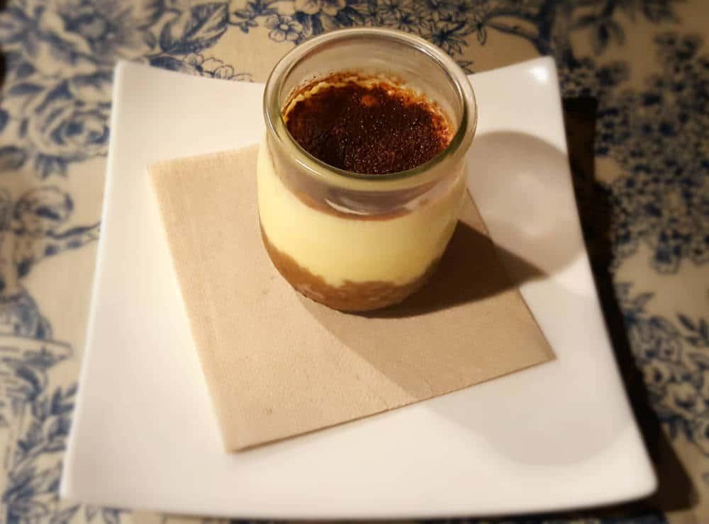 Restaurante Palacio de Anglona - Tiramisú