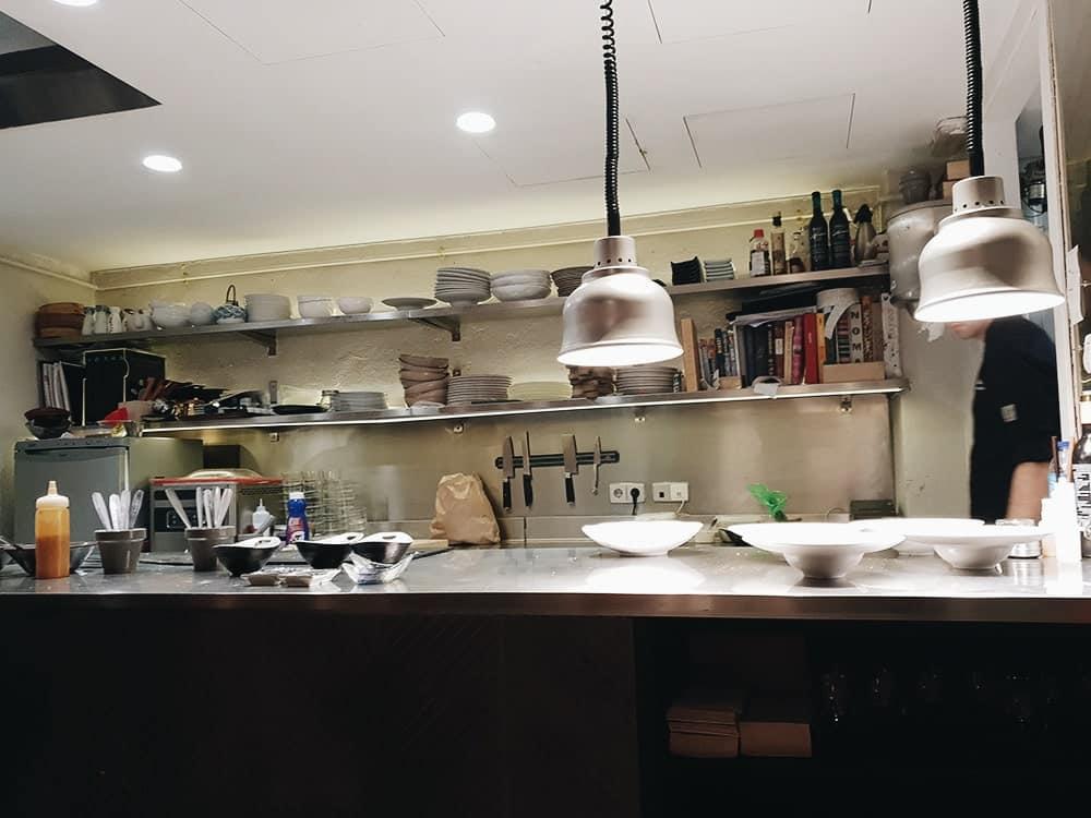 Restaurante Sunne - Cocina