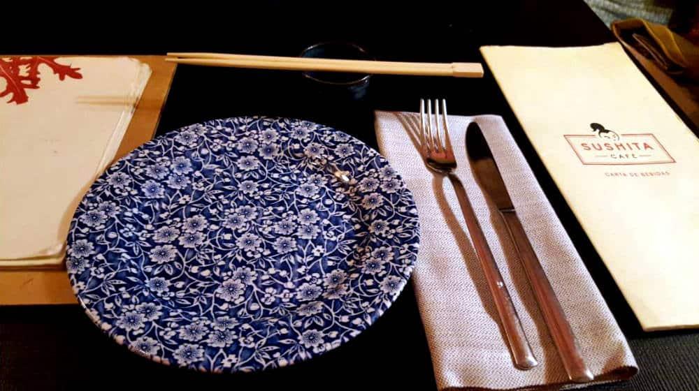 Restaurante Sushita Miguel Angel - Cubiertos