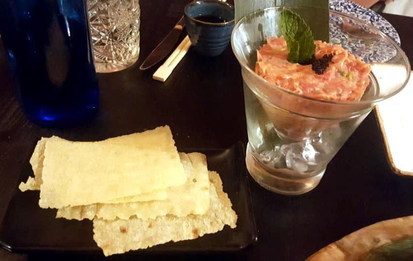 Restaurante Sushita Miguel Angel - Tartar de Atún
