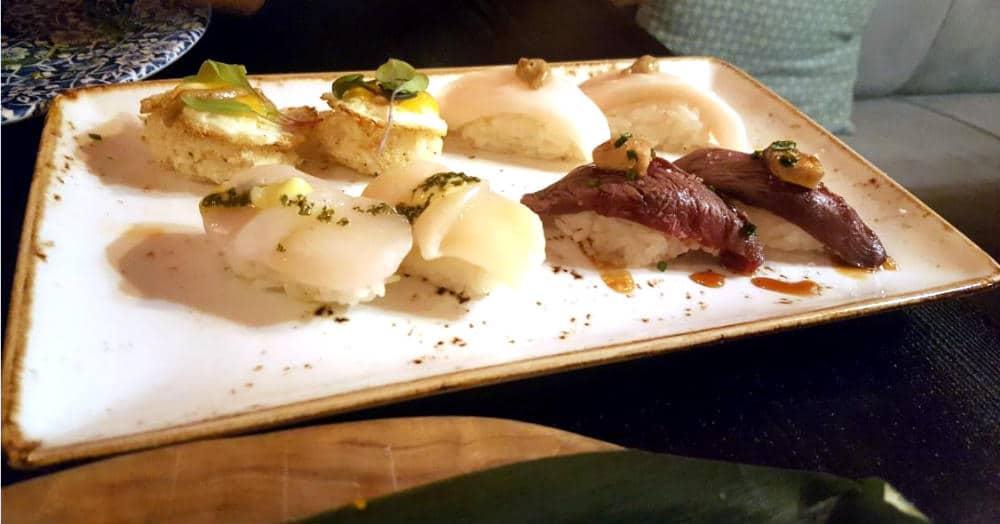 Restaurante Sushita Miguel Angel - Variado de Piezas de Sushi