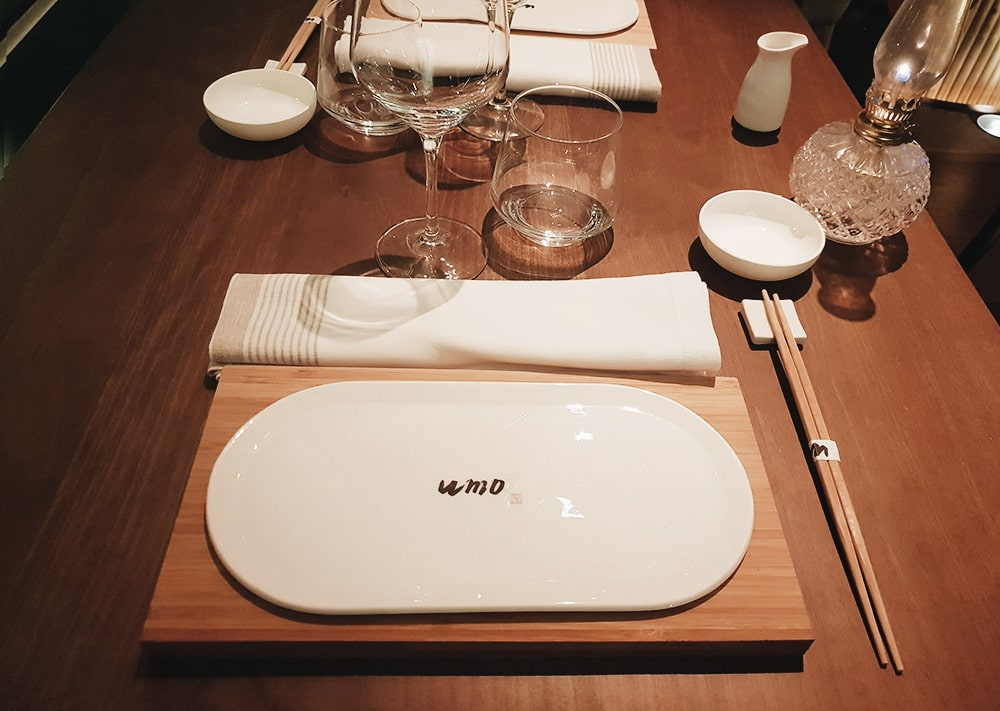 Restaurante UMO - Mesa