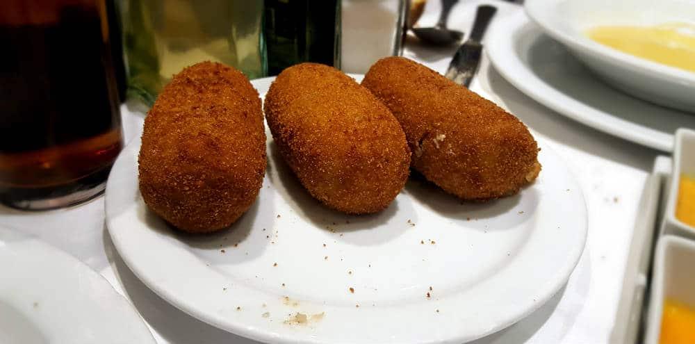 Taberna de la Daniela - Croquetas de Cocido